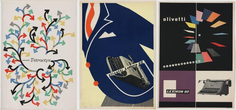 Litografie Olivetti al MoMA