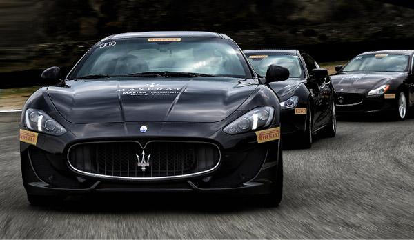 Maserati - Comunicato stampa corsi guida sicura