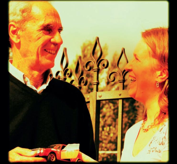 Sandro Munari con Francesca Pasetti