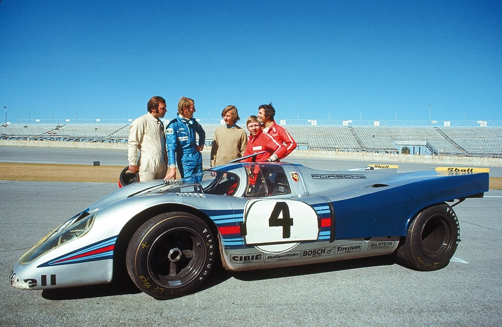Team Porsche-Martini 1971 daytona