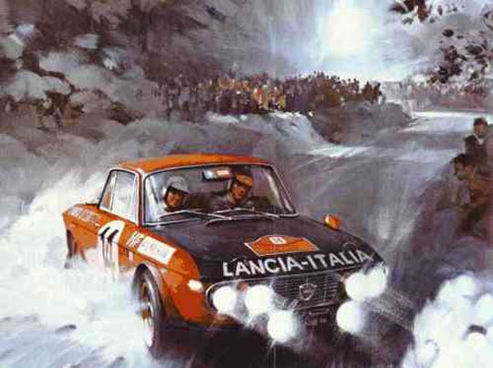 Fulvia Coupe Rally
