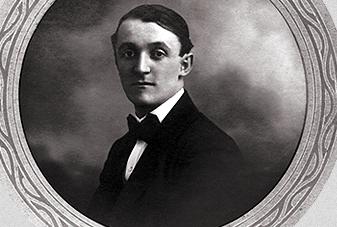 Ugo Gobbato nel 1909