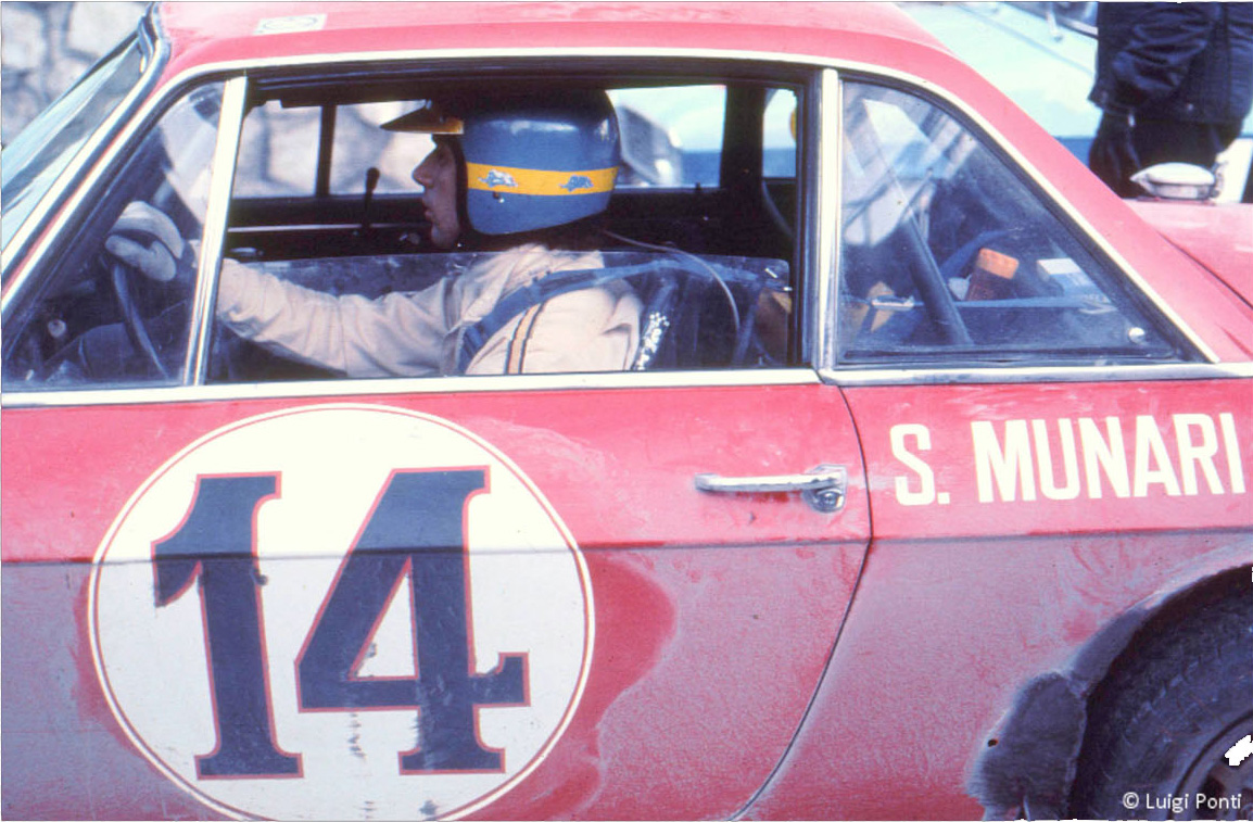 Sandro Munari al volante