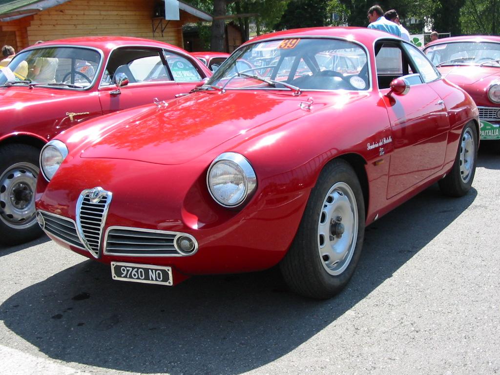 Alfa Romeo Giulietta SZ del 1960