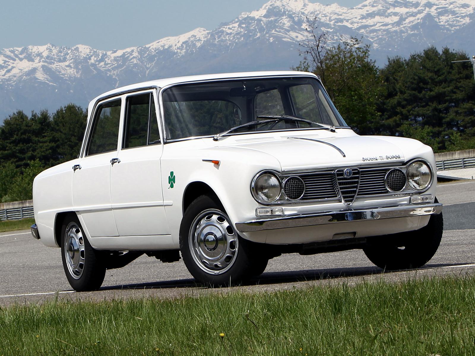 Giulia TI Super del 1963