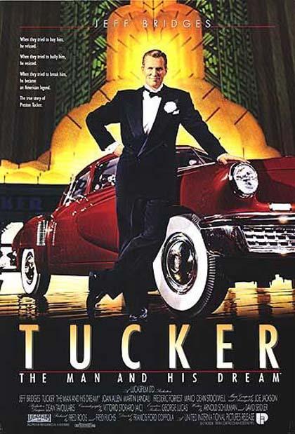 Tucker un uomo e il suo sogno locandina