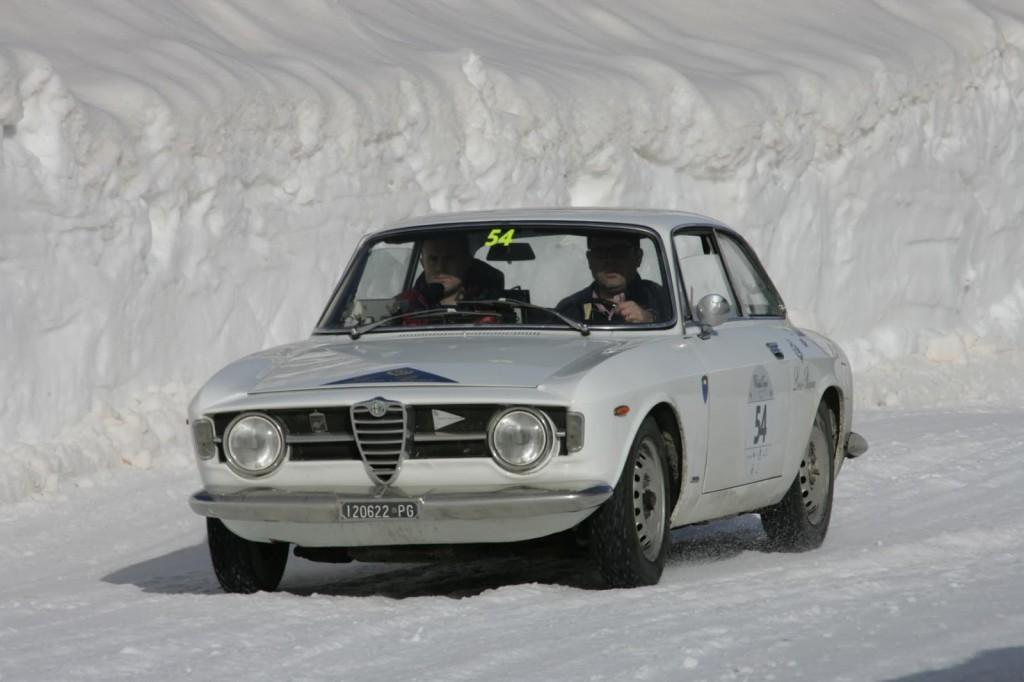 Moceri-Bonetti su A.R. Giulia GT Junior del 1967