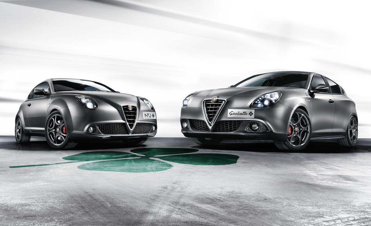 2014 Alfa Romeo Quadrifoglio Verde Mito e Giulietta