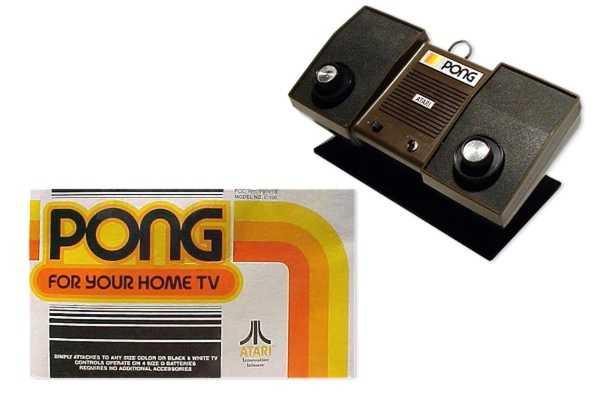Negli anni '70 ci si divertiva anche così: una consolle, due manopole e uno schermo in bianco e nero