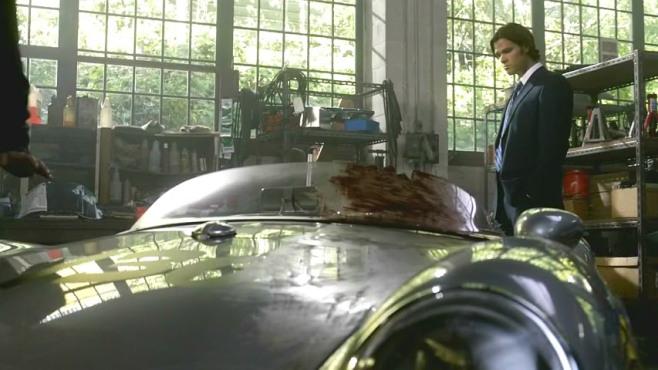Una scena dell'episodio di Supernatural dedicato a Little Bastard