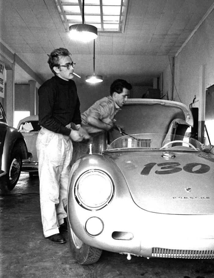 Porsche 550 James Dean set-up