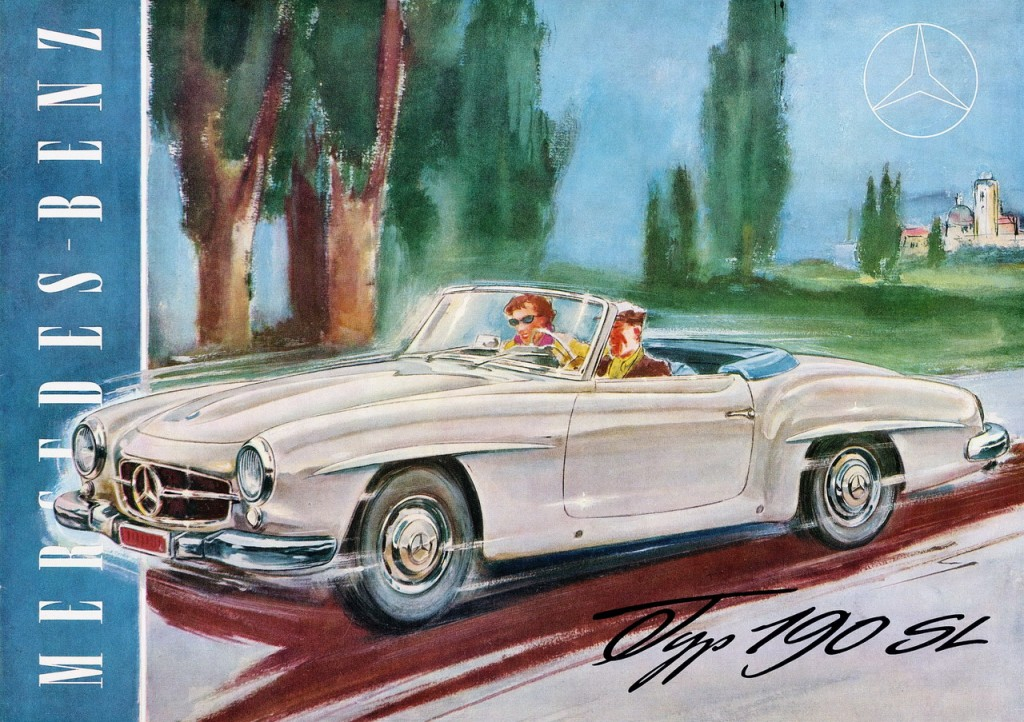 Mercedes-Benz SL in advertising (26)