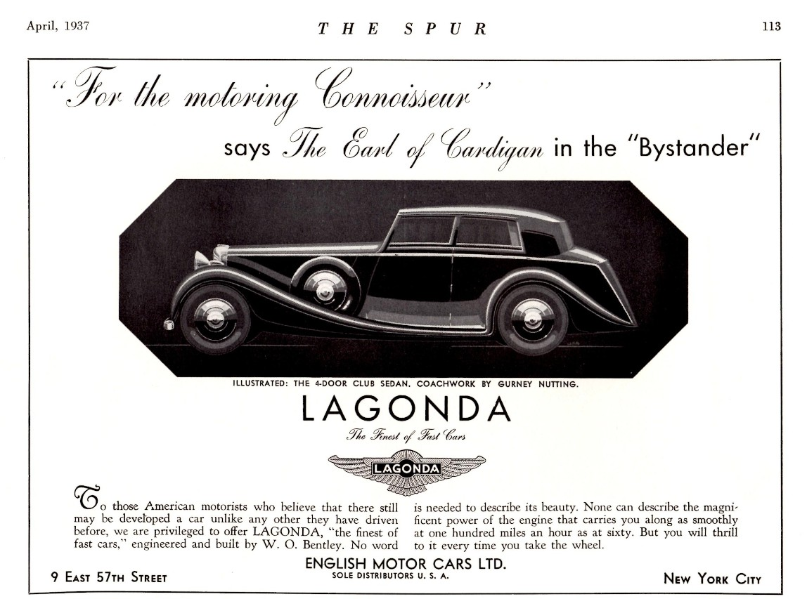 1937_Lagonda_4-Door_Club_Sedan_by_Gurney_Nutting