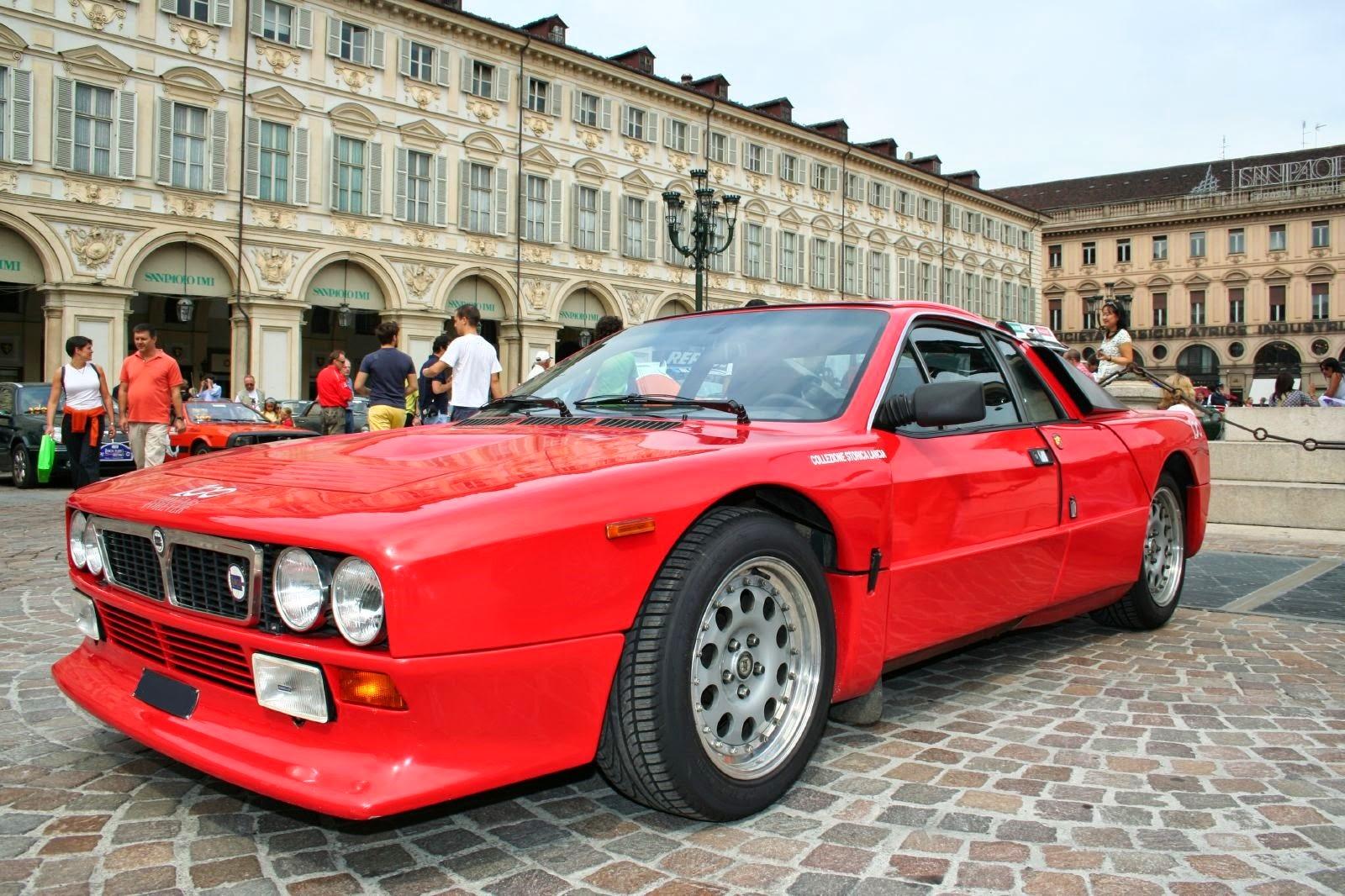Lancia 037. Dalla strada ai rally il passo è breve ...