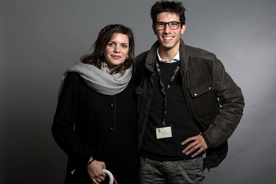 Beatrice Gnarini e Francesco Fulchieri