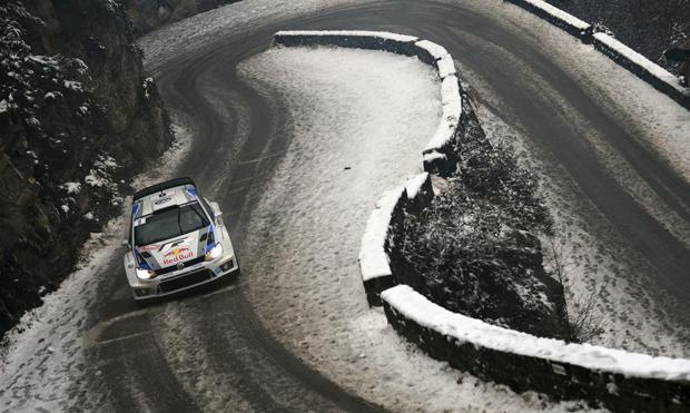 Ogier-Ingrassia-Polo-WRC-al-Rally-di-Montecarlo