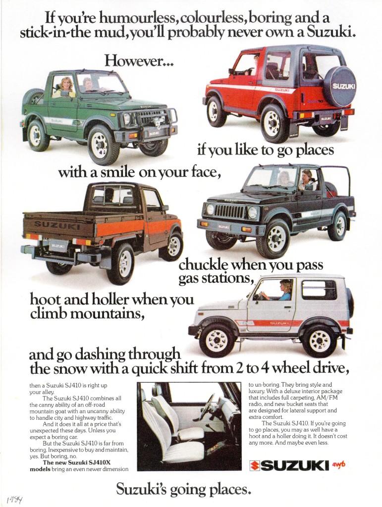 Suzuki – Poster