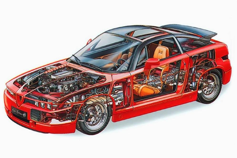 1989-1991 Alfa Romeo SZ (162C)