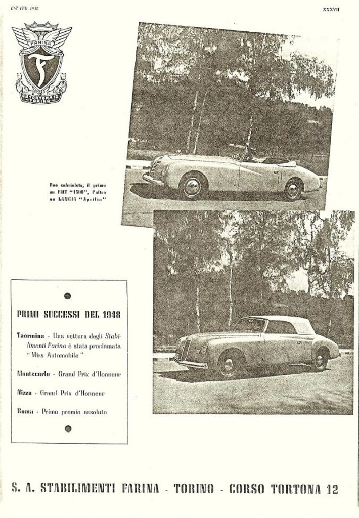 Fiat 1500 Convertible 1948 2
