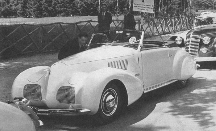 Fiat 2800 cabriolet 1939