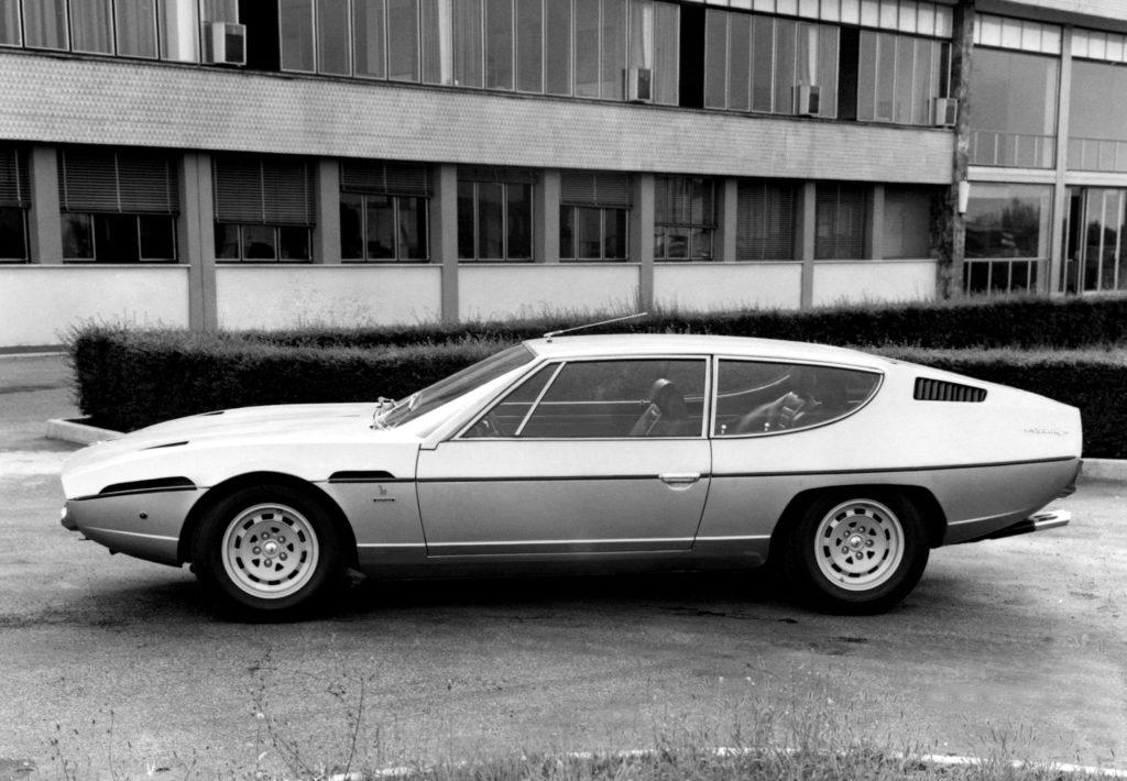 foto storiche bn Lamborghini Espada