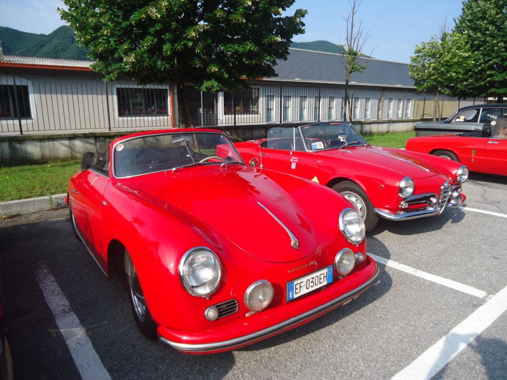 356 speedster e Giulietta Veloce 1 classificata