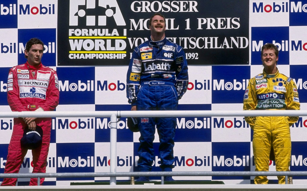 nigel mansell germania