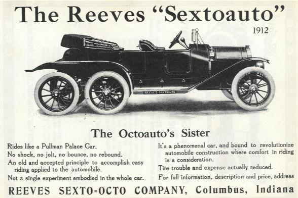 Un'inserzione pubblicitaria della Sextoauto (1912)