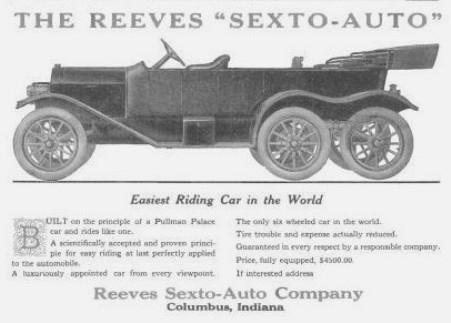 Una seconda inserzione pubblicitaria della Sextoauto su base Stutz (1912)
