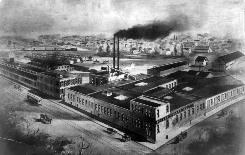 La Reeves Pulley Company a Columbus, Indiana (1890-1912)
