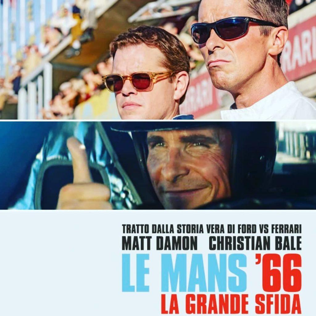 """La locandina italiana di """"Le Mans '66 - La Grande Sfida"""" (2019)"""