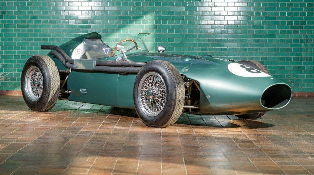 La Aston Martin DBR4 Formula 1 del 1959