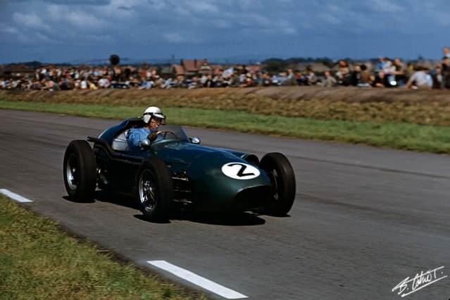 GP Gran Bretagna 1959, Roy Salvadori alla guida della DBR4