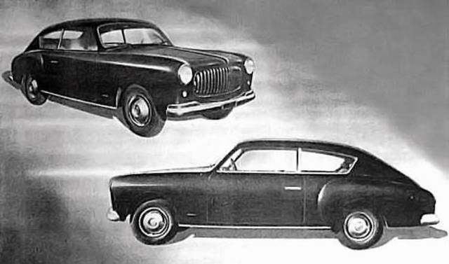Fiat 1400 Accossato, 1951