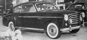 Fiat 1900 Accossato, 1953