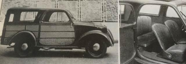 """Fiat 500 """"Topolino"""" B """"Giardinetta"""" Accossato, 1949"""