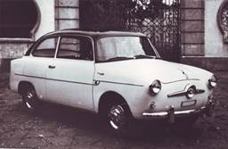 Fiat 600 Coupé 2 porte Accossato, 1956
