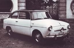 Fiat 600 Coupé 2 porte Accossato, 1956