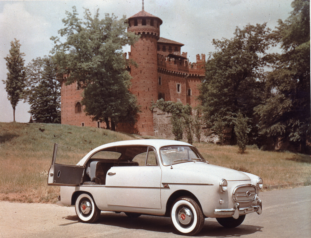 Fiat 600 Coupé Accossato 2 porte e mezza, 1956