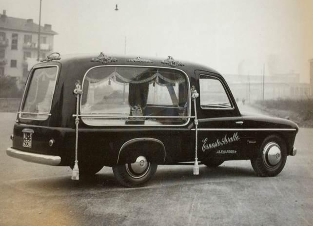 Fiat 1900 carro funebre Accossato, 1953