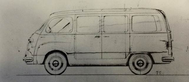 Fiat 600 Multipla Furgoncino Accossato