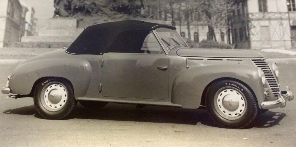 """Fiat 1100 E """"Stella Alpina"""" Spider 1949"""