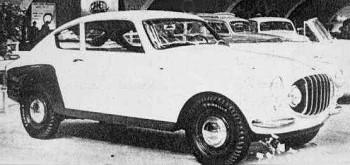 Fiat 1100/103 Coupè, 1953