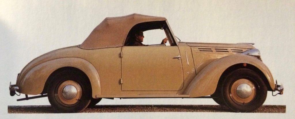 """Fiat 110 B """"Stella Alpina"""" Spider, 1948"""