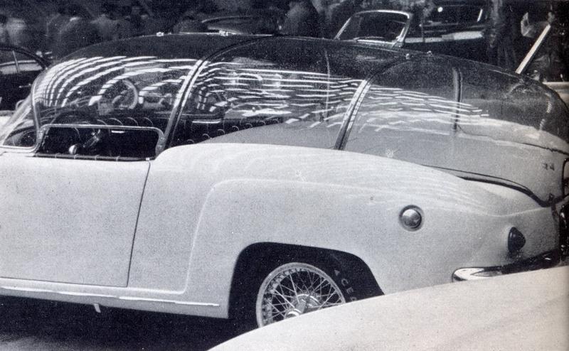 Fiat 1100 103 TV Stella filante, 1954