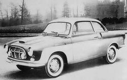 Fiat 1100/103 TV Coupè Carrozzeria Monterosa (1954)