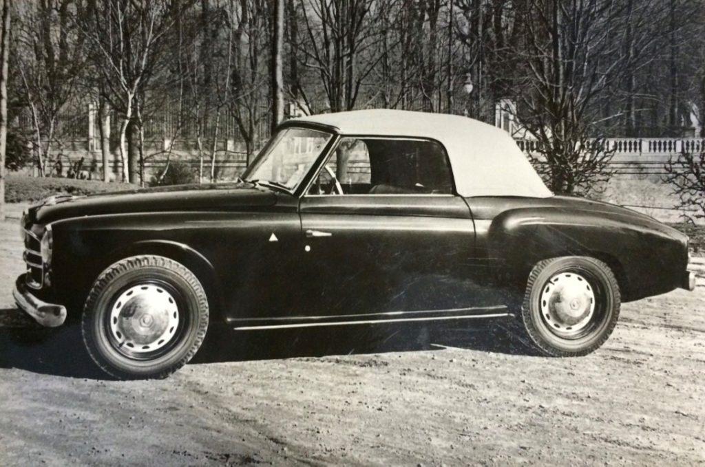 Fiat 1110 E Rondinella Coupè, 1951