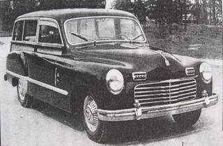 Fiat 1400 Carrozzeria Monterosa (1950)