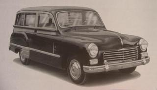 Fiat 1400 Carrozzeria Monterosa (1951)