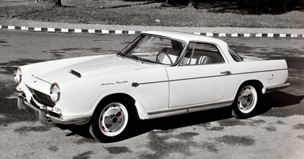 Fiat 1500 Coupè Carrozzeria Monterosa (1959)